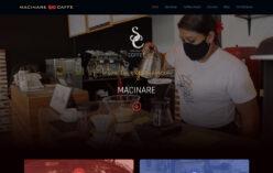 Página web Macinare Caffe