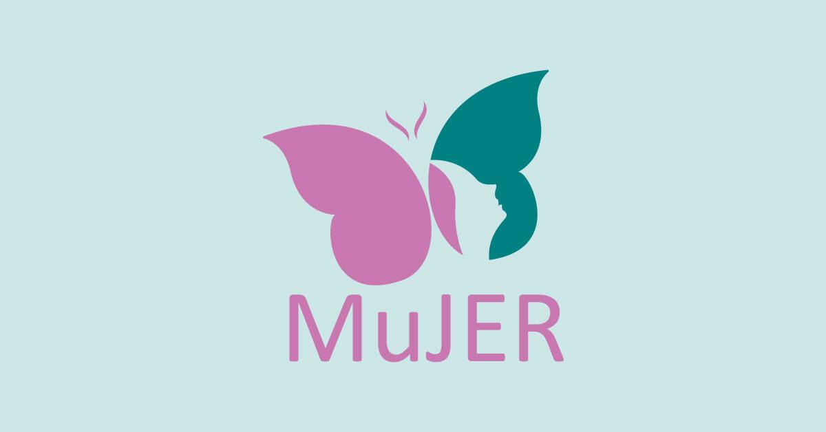 Logotipo original de la organización MuJER